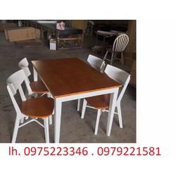 bàn ghế nhà hàng cần bán gấp