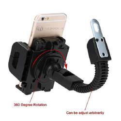 Giá đỡ điện thoại trên xe máy - kẹp đa năng gắn vào chân gương xe máy