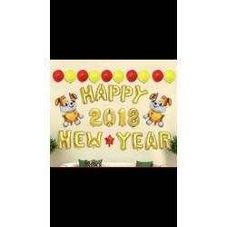 Sét bóng chúc mừng năm mới