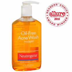Sữa rửa mặt trị mụn Neutrogena Oil-free  269ml - CAM KẾT CHÍNH HÃNG