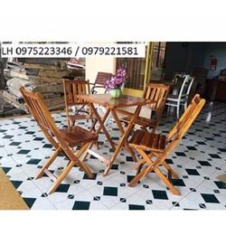 bộ bàn ghế gỗ khối giá ưu đãi