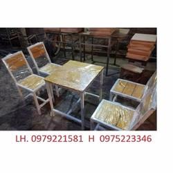bàn ghế hàng chắc lượn giá rẻ