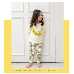 đồ bộ thu đông cho bé gái