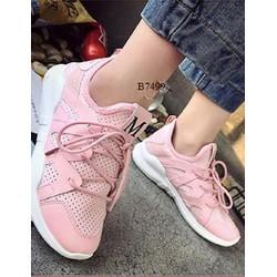 Giày thể thao nữ cá tính A88 - Hồng