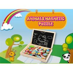 Đồ chơi giáo dục dành cho trẻ em lắp ráp chủ đề nông trại vui vẻ
