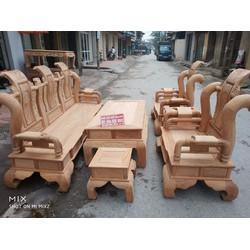 Bộ bàn ghế tần thủy hoàng gỗ gõ đỏ tay 12