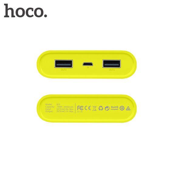 Pin sạc dự phòng HOCO B31 20000mAh chính hãng 4