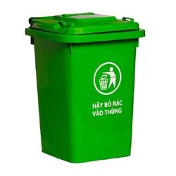 Thùng nhựa đựng rác 60 lít HITA - Không bánh xe
