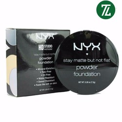 Phấn Nền NYX Stay Matte Powder Foundation 7.5g# SMP02 Nude USA