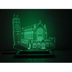 Đèn Led 3D|Mô Hình Nhà Thờ Kiểu Châu Âu