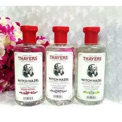 Nước hoa hồng không chứa cồn Thayers Witch Hazel Toner