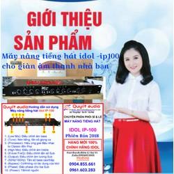 Máy Nâng Tiếng idol-100 Cam Kết Chính Hãng 2018
