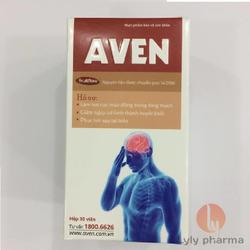 Aven - Làm tan cục máu đông trong lòng mạch và phục hồi sau tai biến