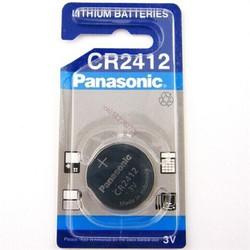 Pin CR2412 Panasonic lithium 3V chính hãng - Vỉ 1 viên