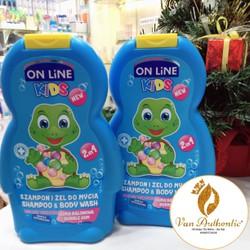 Sữa Tắm Gội Cho Bé On Line Kids Công Thức