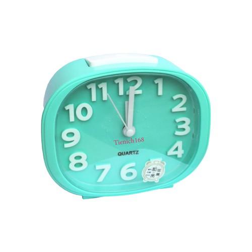 Đồng hồ báo thức để bàn cao cấp Standard Clock Xanh Dương