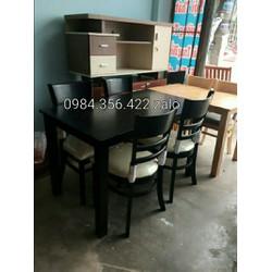 bộ bàn ghế quán ăn cao cấp giá rẻ