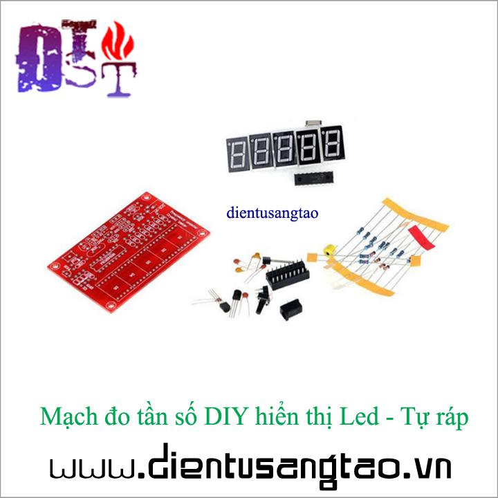 Mạch đo tần số DIY hiển thị Led - Tự ráp 2