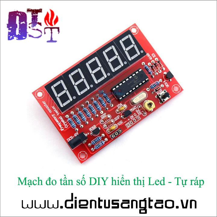 Mạch đo tần số DIY hiển thị Led - Tự ráp 1