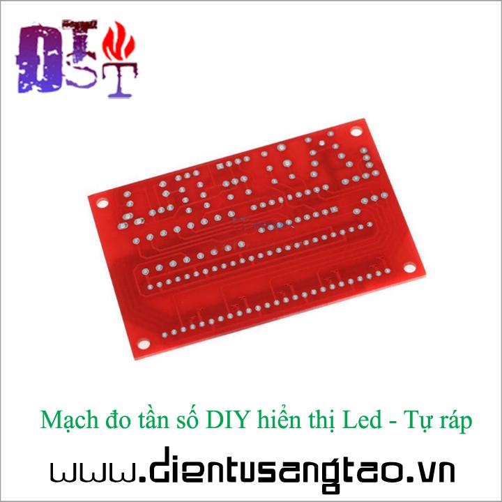 Mạch đo tần số DIY hiển thị Led - Tự ráp 4