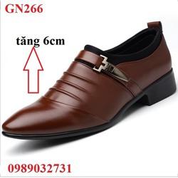 Giày Nam Giày Tây Nam Tăng Chiều Cao - GN266