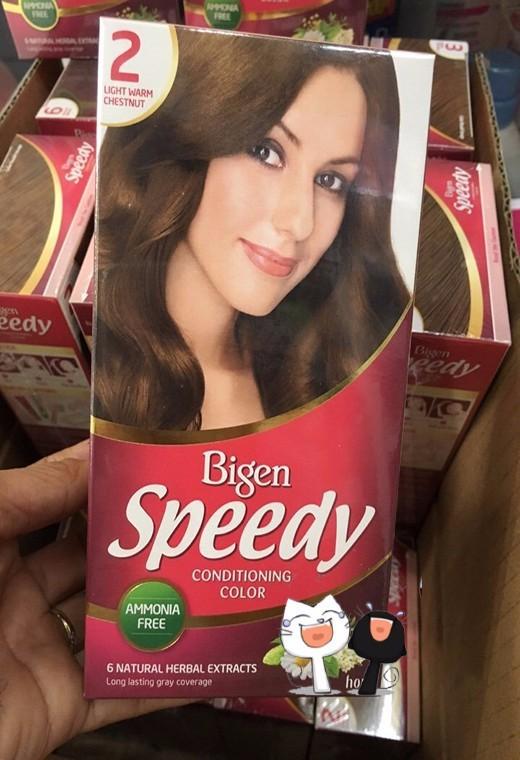 Nhuộm tóc bạc Bigen Speedy 1