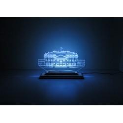 Đèn Led 3D|Mô Hình Nhà Trắng Của Mỹ