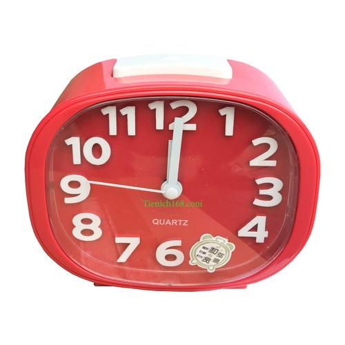 Đồng hồ báo thức để bàn cao cấp Standard Clock Đỏ