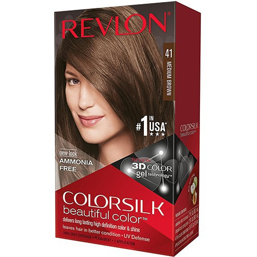 Thuốc nhuộm Revlon Color Silk Beautiful 3D Color 1