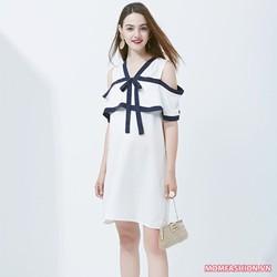 Đầm bầu thời trang phong cách trẻ trung quyến rũ