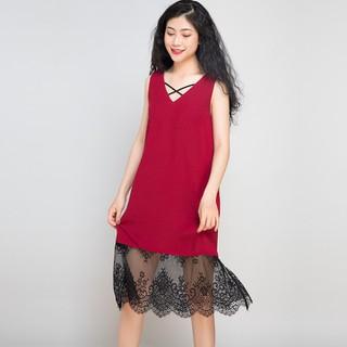 Đầm dự tiệc Đầm Suông 2 trong 1 Hity Dre058 Đỏ Cabernet - DRE058-ĐỎ CABERNET thumbnail