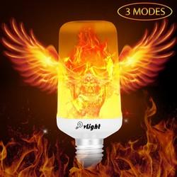 Đèn LED tạo lửa NHƯ THẬT - Hàng Độc - Trang trí nhà cửa rất đẹp