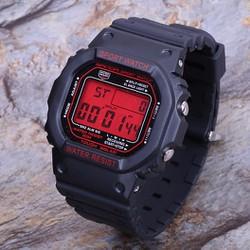 Đồng hồ điện tử Sanda mặt vuông , đồng hồ thể thao chống nước 02
