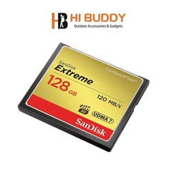 Thẻ Nhớ CompactFlash CF SanDisk Extreme 128GB 800X