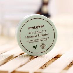Phấn bột kiềm dầu Innisfree No Sebum Mineral Powder