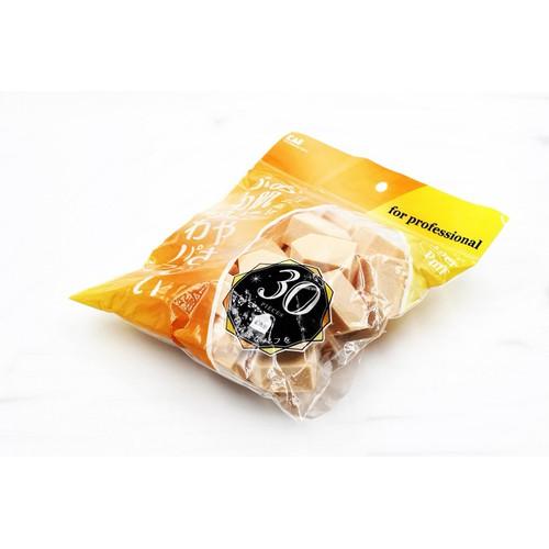 Túi 30 bông phấn trang điểm KAI Xuất xứ từ Nhật Bản hàng nhập khẩu