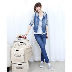 Áo khoác jeans thời trang- y hình