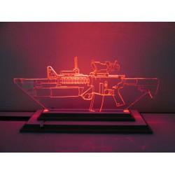 Đèn Led 3D|Mô Hình Khẩu Súng Bắn Tỉa