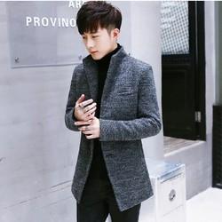 Áo khoác dạ nam thời trang phong cách Hàn Quốc 0226