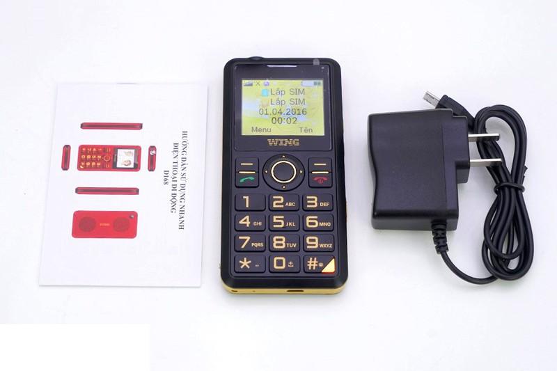 Điện thoại cho người già Wing mẫu mới ra mắt 2018 9