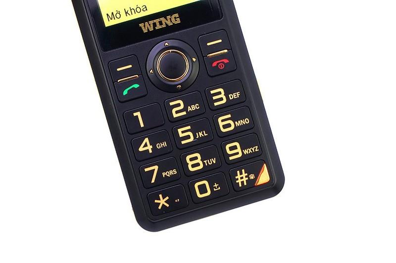 Điện thoại cho người già Wing mẫu mới ra mắt 2018 4