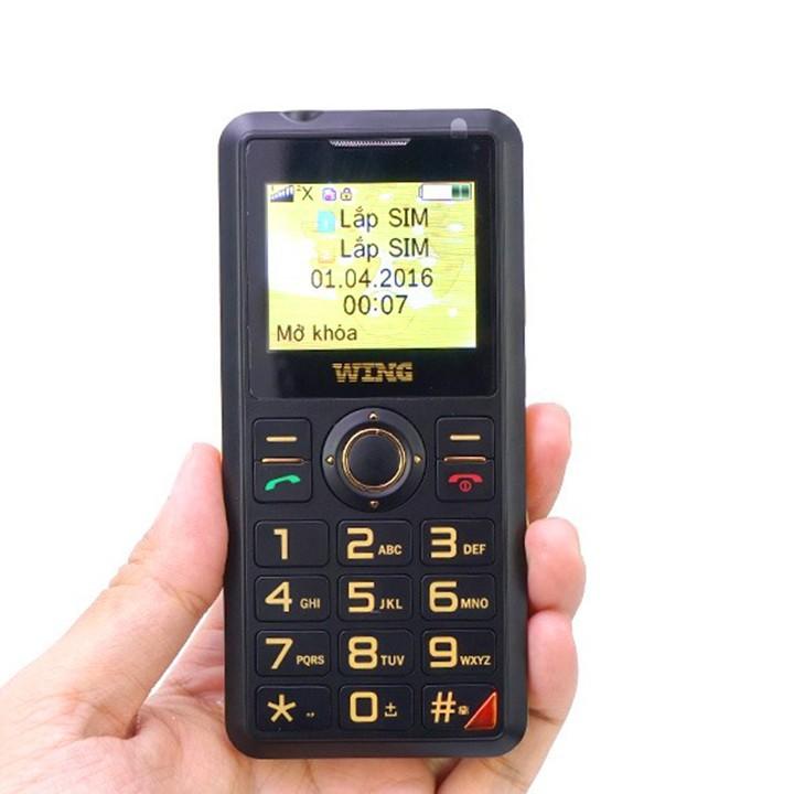 Điện thoại cho người già Wing mẫu mới ra mắt 2018 2