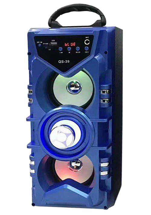 Loa bluetooth - karaoke QS-39 1