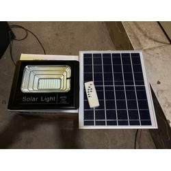 bộ đèn led dùng pin năng lượng mặt trời 40w