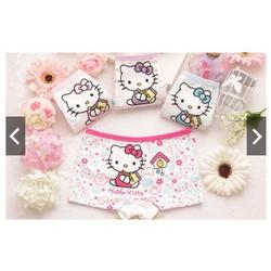 Quần chíp đùi Hello Kitty cho bé gái từ 2 tới 10 tuổi