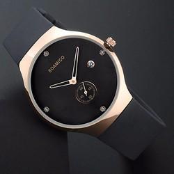 Đồng hồ nam thiết kế ôm tay kiểu dáng sang trọng chạy 3 kim BOAMIGO