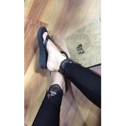 quần Legging ren chân