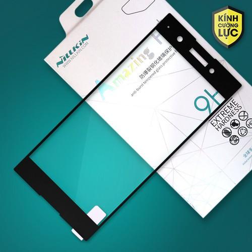 Cường lực Sony XA1 Plus Full Nillkin đen