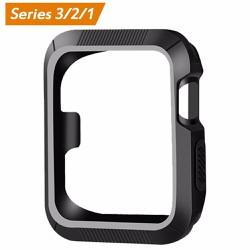 Ốp viền case Apple Watch 42mm đen trắng