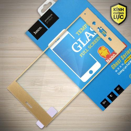 Cường lực Sony-Xperia XZ1 Full Hoco vàng